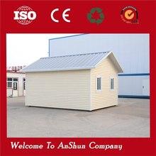 long life light steel structure prefab house fiber cement siding