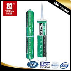 China supplier Acetic Silicone Sealant brown color