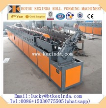 Rolling shutter door slat panel making machine in China