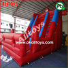 spider inflatable slide blue and red inflatable slide