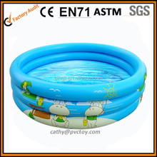 2015 Cheap plastic inflatable swimming pool for kids