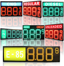 Outdoor High Brightness Gas Station LED Price Sign