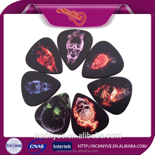 2015 new specialized color printing celluloid guitar pick