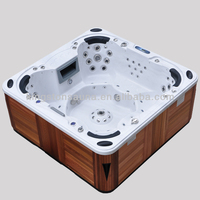 7 persons acrylic shower hot tub JCS-09