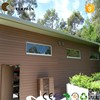 china supplier high quality container house wooden composite exterior wall siding