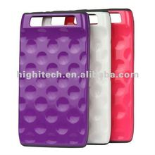 Bubble Pattern Plastic & TPU Hybrid Case for Motorola Droid Razr XT910 XT912 XT915