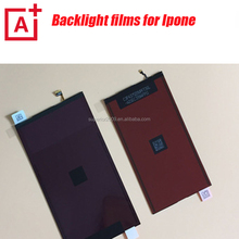 Original new lcd backlight film for iphone 4 4s 5 5s 5c 6 6+ mobile phone repair parts
