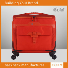 hot sale airport carry-on luggage with custom logo luggage with retractable wheels