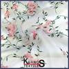 3D embroidered organza fabric roll