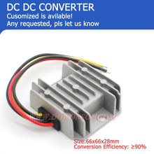 dc to dc voltage converter 12V Step dwon to 5V 10A 50Wmax alloy case Low cost