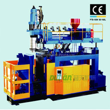 Automatic extrusion blowing machine , extrusion blow moulding machine for baskeball lampstand, basketball equipment