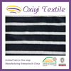 80% cotton 20% polyester stripe printing velour
