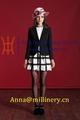 2015 nuevos diseños de traje de negocios para mujer / Vestidos para ocasiones especiales de la Mujer