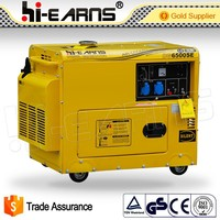 5KVA silent portable small diesel generator home use