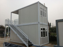 two-storey container house/ economical house designs/ removeable house