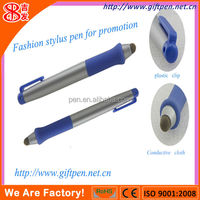 new touch screen stylus pen with fiber cloth tip