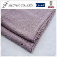 Jiufan Textile 2015 Hot Sale Knitting Sweater Material Rayon Poly Fancy Hacci Fabric For Garment