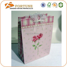 Good quality paper shopping bag making machine, paper bag for flour packaging, paper bag printing