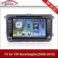 Bway car radio for VW Bora Sagitar 2006-2010 Car dvd player 256 MB RAM with Radio,bluetooth,USB/SD slot,steering wheel