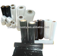 clear and black hand wrap LLDPE stretch films
