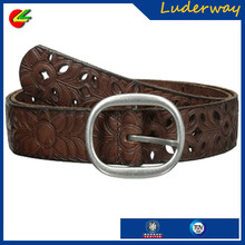 Wrestling custom championship belts with round belt buckle for women