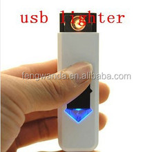 Portable Usb Charged Electronic Cigarette Lighter Flameless Windproof Lighter No Gas