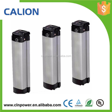 Electric Bike Battery 48v 20ah Li-ion Battery with Silver Aluminium Case