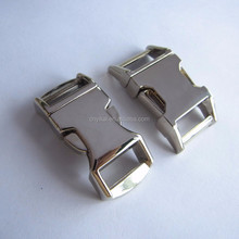1/2 curved metal buckle/metal quick release buckle/ hardware buckle for pet collars