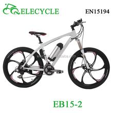 ELECYCLE 36V 350W electric wheel hub motor bike/electric mountain bike