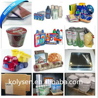 Clear pof heat shrink film in roll for products packaging