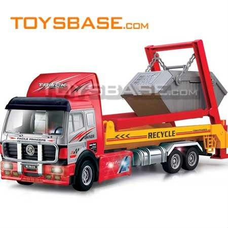 4CH RC construção caminhões de brinquedo
