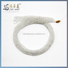 Natural Gemstone Fancy shape Loose Beads White Topaz bracelet