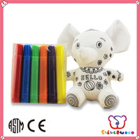 GSV certification funny kids education Drawing Plush Toys