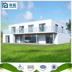 2015 Hot Sell!!! Professional prefabricated house factory Weifang Huahong