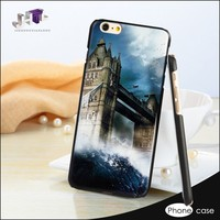 Colorful Flip Leather Rubber Cell Phone Case