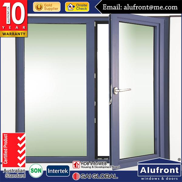 Aluminum Glass Hinged Windows Aluminum Casement Window For