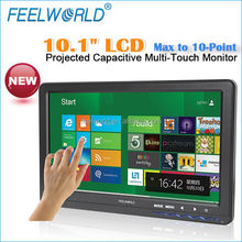 10.1 inch Projected tft 10-point capacitive screen Multi Touch Monitor for pos