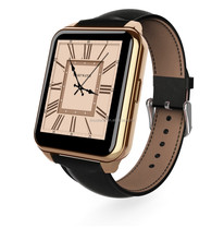 """Hot new products for 2015 1.55"""" IPS Touch Screen F2 Waterproof Smart Watch with Heart Rate Monitor Leather band for Andriod&IOS"""
