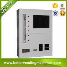 Wall mounted cigarette/tissue paper vending machine from Better