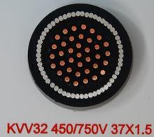 KVVRP flexible electrical control cables