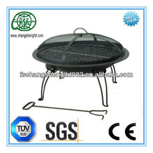 "Fire Sense 22"" Folding Portable Outdoor Patio fire pits at home depot and hand bag are available"