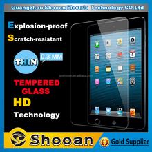well tested 100% anti- microbial anti-oil nano liquid shatterproof high clear screen protector for ipad air 2