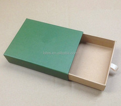 Customized paper gift box, pull out paper box for fancy towel