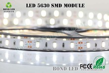 5630 60leds/m pure white color led light strip, ce rohs led strip w w w .sex com