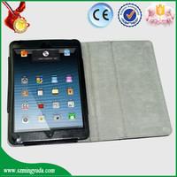 Flip cover tablet case for ipad mini , Stylish smart function for iPad Mini Case
