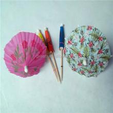 Paper Party Decoration Honeycomb Parasol Umbrella pick