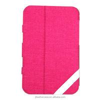 China manufacturer New Canvas case for iPad mini Fashion design