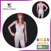 Factory Direct Sale Fitness Comfortable Black Full Body Shaper
