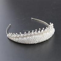 Top sales fashion fair accessories crown bridal designers bridal tiara wedding hair crown