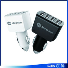 Car charger 9.6A multi usb with CE and Rohs OEM&ODM usb car charger cigarette lighter adapter